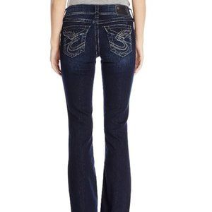 Silver Suki Surplus Boot Stretch Jean